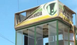 Surco: vecinos denuncian que módulos y casetas de Serenazgo están abandonadas