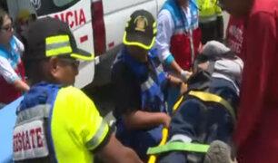 Chorrillos: hombre se salva de morir tras sufrir descarga eléctrica cuando instalaba antena