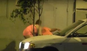 Cercado: hombres vestidos de mujer que asaltaban borrachos fueron detenidos