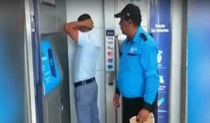 Surco: detienen a sujeto realizando modalidad del 'cambiazo' de tarjetas