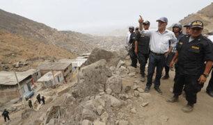 Lomas de Villa María: más de 200 policías desalojan a invasores de área natural protegida