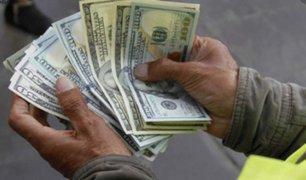 Dólar sube a S/3.55 ante posible vacancia presidencial