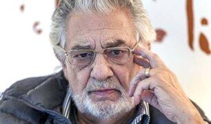 """España: cancelan actuaciones de Plácido Domingo """"en solidaridad con las mujeres afectadas"""""""