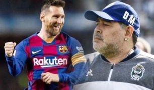 """Diego Armando Maradona: """"Messi no va a poder hacer lo que hice yo"""""""