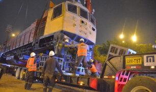 La Victoria: retiran locomotora que era usada como refugio de delincuentes en El Porvenir