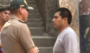 Rímac: detienen a sujeto que acosaba a menores en cerro San Cristóbal