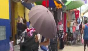 Comerciantes ambulantes invaden vía pública en SJM