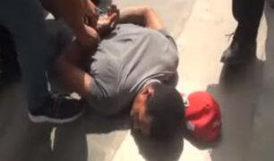 Mototaxista extranjero que agredió a serenos en Surco quedó en libertad por error en parte policial