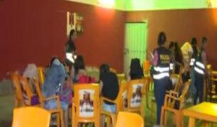Mala: realizan megaoperativo contra la trata de personas