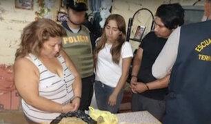 Ate: mujer usaba bodega como fachada para vender droga