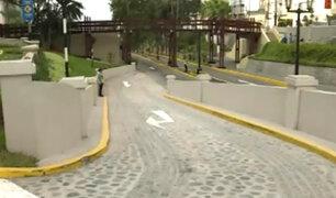 Bajada Balta: nueva salida disminuirá congestión vehicular en av. Benavides