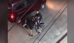 SMP: hombre persigue y captura a delincuente en moto
