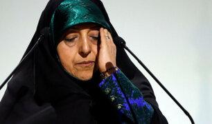Irán: vicepresidenta en cuarentena tras saber que está infectada con el coronavirus