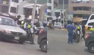 Trujillo: inspector de tránsito es amenazado por conductores violentos