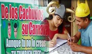 """Pucallpa: todo listo para el 'Cuernaval', el carnaval del 'Sindicato de Cachudos"""""""