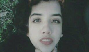 Madre busca desesperadamente a su hija desaparecida en San Juan de Miraflores