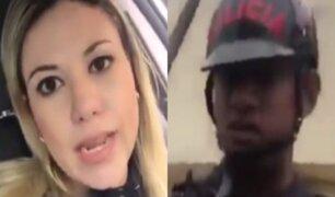 Activista venezolana acusa de xenofobia a policía