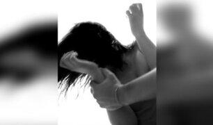 Huancayo: detienen a hombre que mordió el pómulo a su expareja en la vía pública