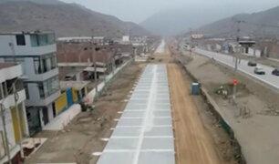 Nueva pista conectará en 25 minutos Cieneguilla con la Panamericana Sur