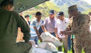 Cusco: más de 7 toneladas de víveres fueron enviados para los damnificados tras aluvión