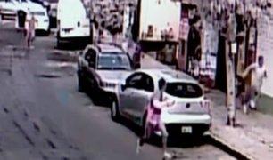 Chorrillos: taxista frustra robo de su vehículo