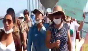 Chimbote: pobladores piden cierre de puerto para evitar el coronavirus