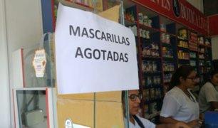 Agotan mascarillas en Tacna pese a no haber ningún caso de coronavirus