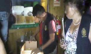 Barranco: menores de edad y drogas se hallaron durante intervención a locales nocturnos