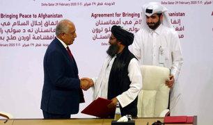 Estados Unidos y los talibanes firmaron un histórico acuerdo de paz