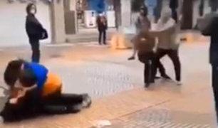 VIDEO: violentas peleas en Japón por comprar últimas mascarillas