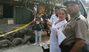 Comas: taxista recibió cuatro disparos de sicarios cuando visitaba a sus hijas