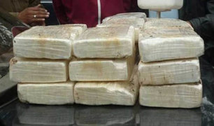 Arequipa: intervienen camión que trasladaba más de 100 kilos de droga