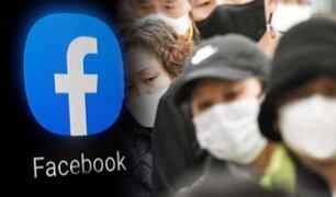 """Facebook prohíbe anuncios de productos que prometen """"curar"""" el coronavirus"""