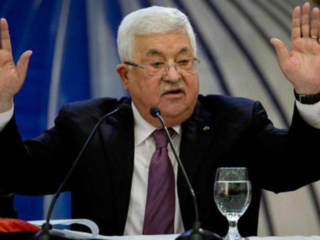 Palestina rompe 'todas sus relaciones' con Israel y EEUU