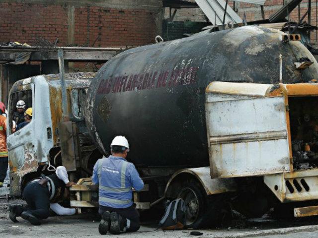 Informe final: Osinergmin no se hace responsable por causas del incendio