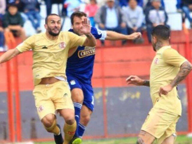 Liga 1: Sporting Cristal cayó 2-1 ante UTC en Cajamarca y terminó con 3 expulsados
