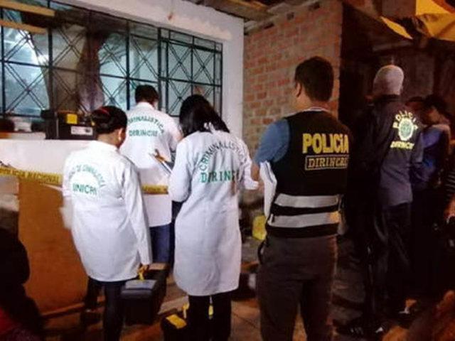 Chaclacayo: sujeto fue asesinado a balazos dentro de su vivienda