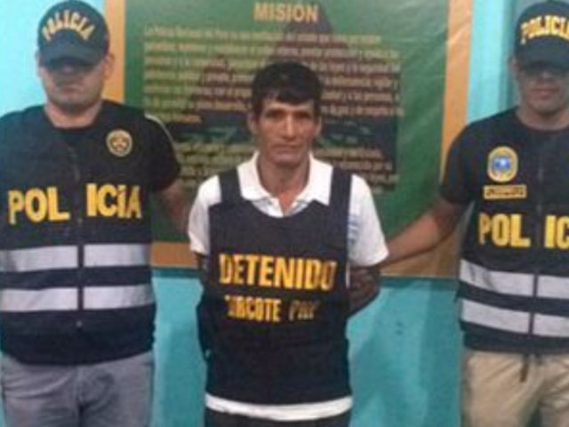 """""""Eracliyo"""": miembro de Sendero Luminoso fue capturado en el Vraem"""