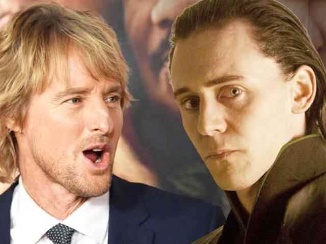 """Marvel: Owen Wilson se suma al elenco de la serie de """"Loki"""""""