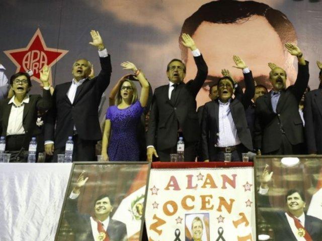 """Apra se pronuncia: """"la denuncia de golpe de Estado contra Vizcarra no fue valorada por la población"""""""
