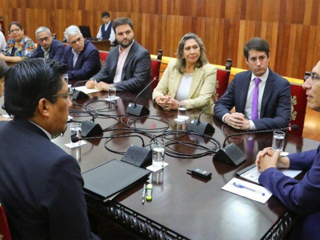"""Partido Morado tras reunión con Vizcarra: """"Las reformas electorales deben ser aplicadas el 2021"""""""