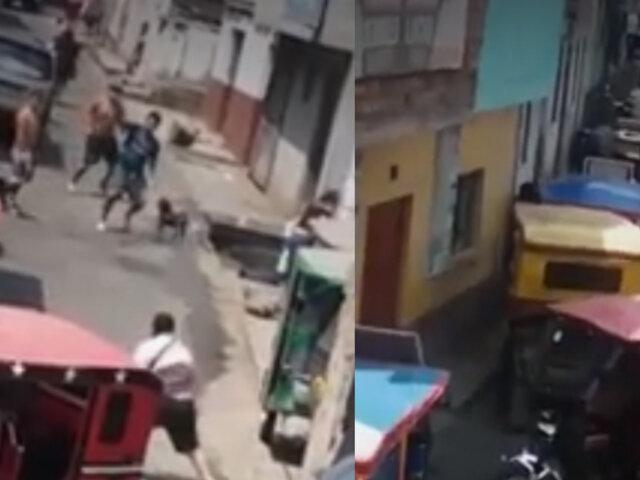El Agustino: adolescente con impacto de bala tras brutal enfrentamiento entre vecinos