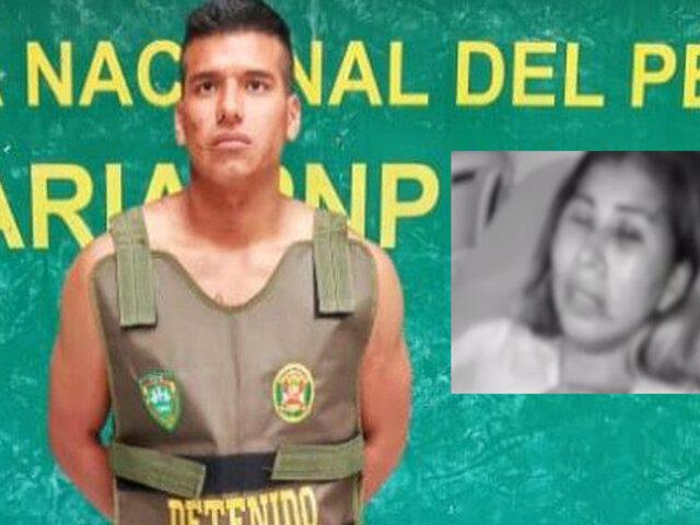 Huacho: solicitan 9 meses de prisión preventiva para sujeto que desfiguró rostro de expareja