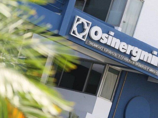 Gobierno anunció reorganización de Osinergmin luego de la tragedia de VES