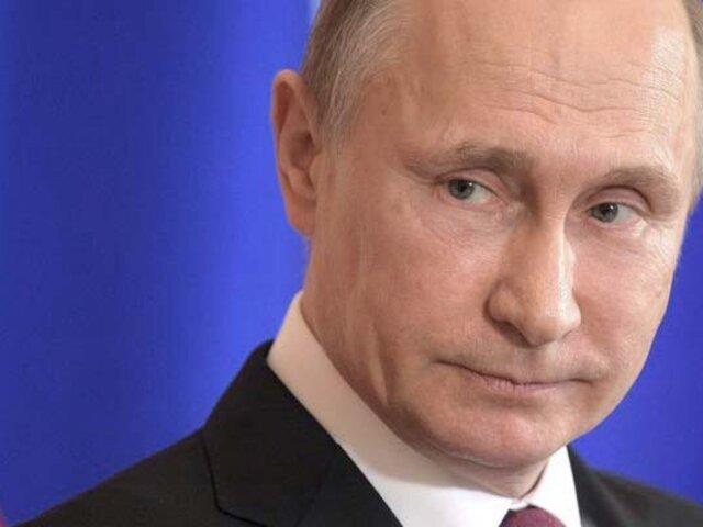 Postulan a Vladimir Putin para el premio Nobel de la Paz
