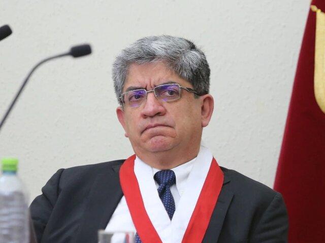 José Luis Sardón: magistrado del TC presentó queja contra Domingo Pérez y Rafael Vela