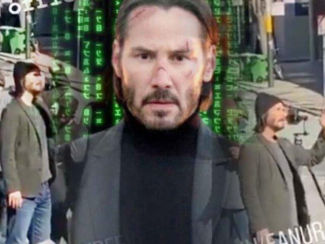 Matrix 4: se revela primer vistazo a Keanu Reeves como Neo