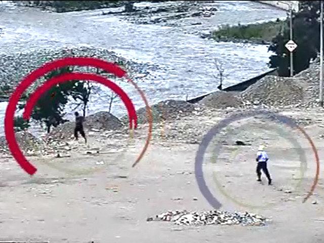 Barrios Altos: ladrón se lanza al río Rímac para evitar ser detenido