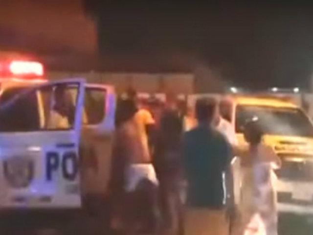 Chimbote: policías intervinieron violentamente a un hombre por error