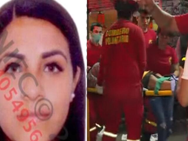 Rímac: mujer sobrevive pese a recibir disparo en la cabeza
